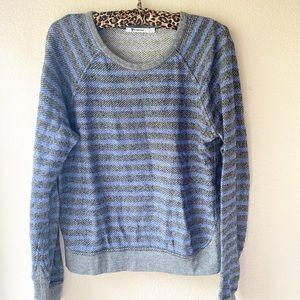 T Alexander wang striped sweater medium